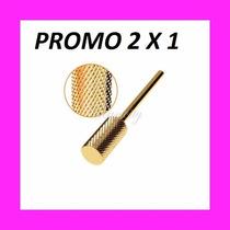 Fresa Carbide Para Uñas Esculpidas Kit X 2 -cono Y Barril
