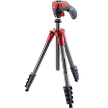 Tripé Manfrotto Compact Action Red Universal Filmadora Foto