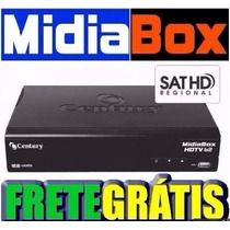 Midia Box Century + Lnbf Super Digital Multiponto Century
