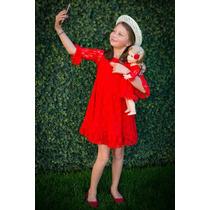 American Girl Set De Ropa Selfieme, Lace Red - Talla L