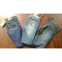 Jeans De Dama Play Boys . Salvaje Real . Talla 3/4