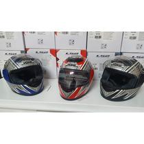 Jm Motors Casco Integral Yohe Helmet Hawk Shiro Seuz