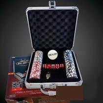 Ficheros De Poker Laser 100 Fichas En Valija De Aluminio