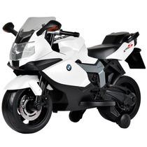Mini Moto Elétrica 6v Bmw K1300 Branca - Bandeirante