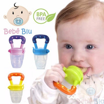 Bebê Alimentador Papinha Bico Silicone Mordedor Chupeta