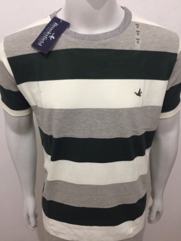 Camiseta Brooksfield Listrada 04 - R  89 e51608895b151