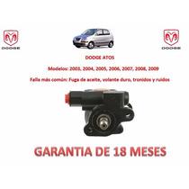 Bomba Licuadora Direccion Hidraulica C/polea Dodge Atos 2006