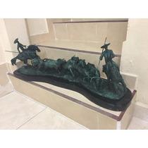 Lrc El Encierro, Escultura De Bronce, Excelente Calidad!!!