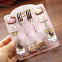 Hello Kitty Set De Cubiertos Acero Inoxidable Cucharatenedor