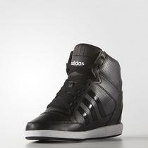 Zapatillas Adidas Neo Super Wedge Mujer Taco 100% Original
