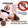 Fumigaciones Resd, Comerc, Indust.100% Efectivas Garantizad