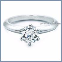Anillo De Compromiso Diamante Natural .20ct Oro 18k -50% 054