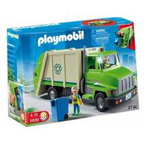 Playmobil - Modelo 5938 - Camion De Reciclaje