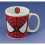 Caneca De Porcelana Branca - Geek Super Herois Homem Aranha