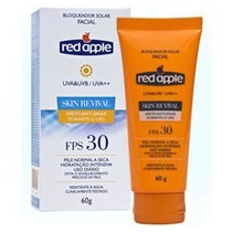 Protetor Solar Facial Red Apple Fps 30 Skin Revival 60gr