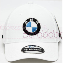 Boné Bmw Trucker Aberto Bordado Tomflex Leopard Original