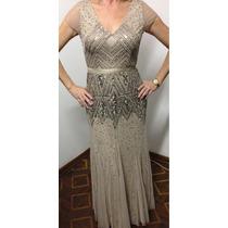 Vestido Madrinha Longo Bordado Luxo Formatura