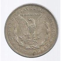 Usa 1 Dolar Morgan 1921 Plata