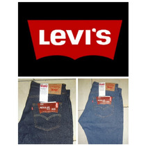 Pantalones Levis 505 Regular Fit 100% Corte Original