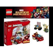 Lego Juniors 10721 - Homem De Ferro Contra Loki