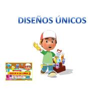 Kit Imprimible Manny A La Obra, Invitaciones
