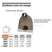 Azadones Lane Sin Mango Peso De Cabeza 1.5lb
