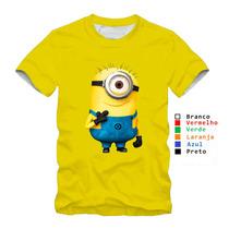 Camisa Personalizada Minions