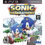 Juego Sonic Generations Ps3 Fisico, Nuevo Y Sellado