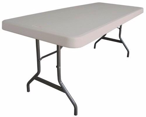 Mesa plegable mts mesa tabl n de pl stico 1 399 for Mesa plegable mercado libre