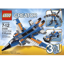 Lego Creator 31008 Avión Ultrasónico