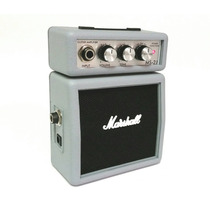 Marshall Amplificador Ms-2j Micro Mini Guitarra Plateado