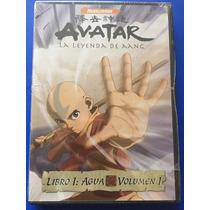 Avatar La Leyenda De Aang Libro 1 Agua Vol 1 Uno Dvd