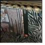 Pisos De Goma Print Cebra Parquet