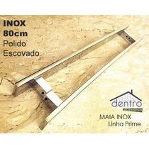 Puxadores Duplos, Para Portas. Lançamento Inox 80cm