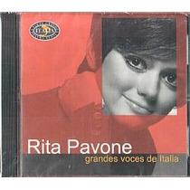 Cd Rita Pavone - Grandes Voces De Italia (novo/lacrado)