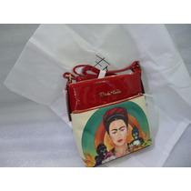 Mariconera Bolsa Colección Frida Kalho Moda Original 100%