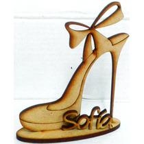 Zapato Centro D Mesa .packx10 Uni. 20m. C/nombre
