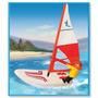 Playmobil Tabla De Windsurf Con Motor Original Antex