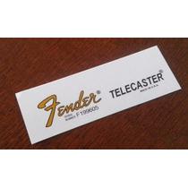 Telecaster Waterslide-usado Nos Adesivos Fender