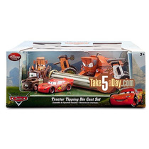 Disney Store Set Tractor Tipping Frank Tractores Rayo Y Mate