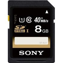 Sf-8uy//tq1 Memoria Sd Sony 8gb Clase 10 Sf-8nx