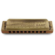 Gaita De Boca Harmônica Hering Vintage Harp 1923 C (dó) C/nf