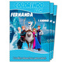 Frozen Revista De Colorir Lembrança De Aniversario De 1 Ano