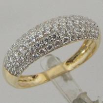 3105-456 Anel Tipo Ralador De Ouro 18k 750 Rpw