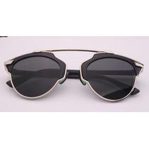 Lentes Dior So Real Negro Con Plata Unisex Sunglasses