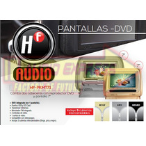Combo De Cabeceras Reproductor Dvd Y Pantalla 7