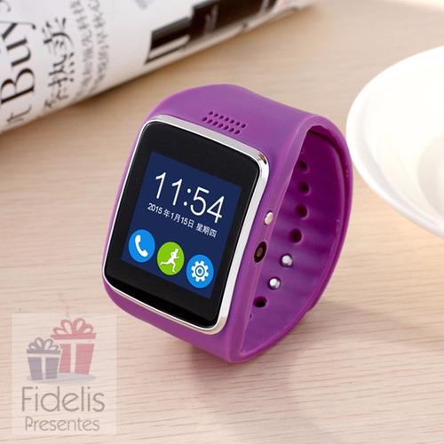 635aeda5f30 Relógio Z30 Chip Smartwatch - R  120