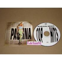 Paulina Rubio Top Hits 2000 Emi Cd Blanco