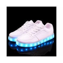 Zapatos Con Luces Led Recargables Deportivos Usb Niño Niña