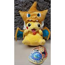 Peluche Pokemon Pikachu Charizard 25cm Envío Dhl Incluido.